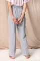 baby blue wide trousers