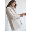 beige wool jacket