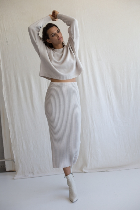 merino wool skirt