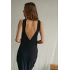 dress with v-neck on the back
