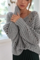 oversized wol blend sweater