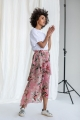 rose skirt with flowers